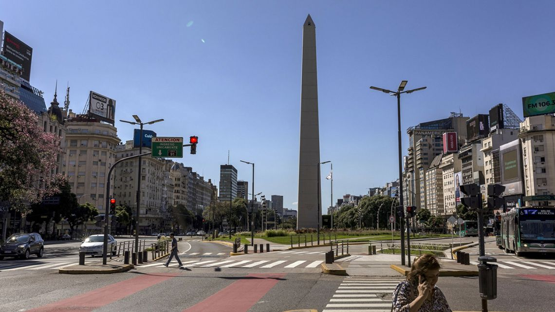 Argentina's streets have fallen silent amid the mandatory lockdown ordered by President Alberto Fernández amid the coronavirus pandemic.