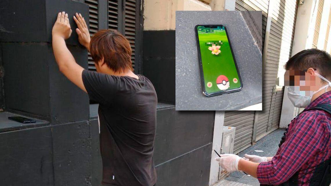 """El joven de 28 años estaba """"cazando pokemones""""    Foto:cedoc"""