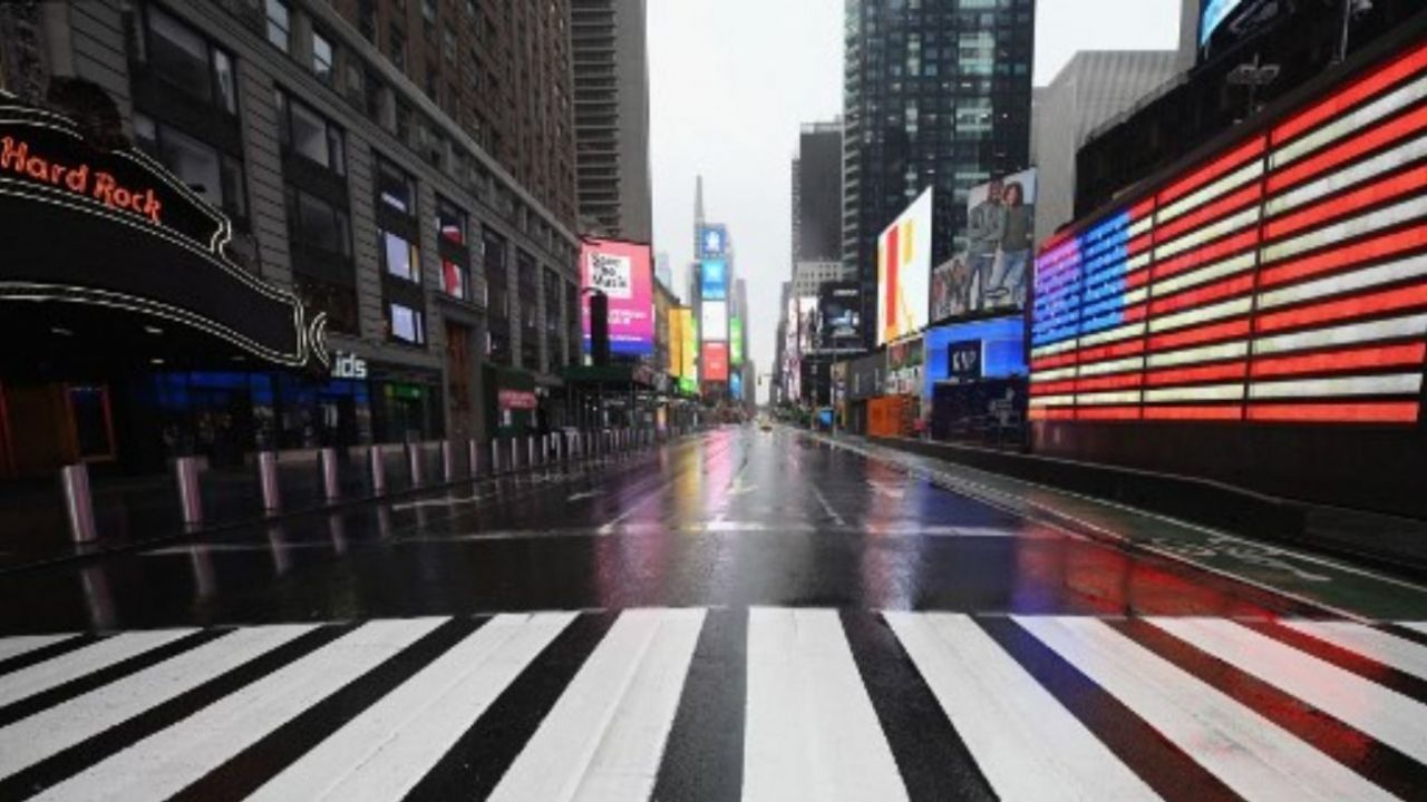 Nueva York desierta   Foto:Cedoc