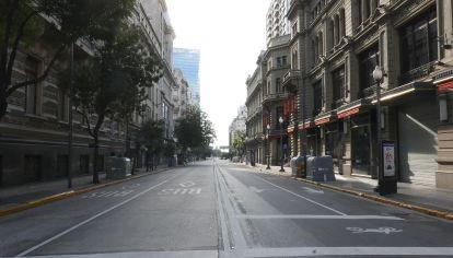 La ciudad de Buenos Aires, algunos de sus barrios como La Boca, Belgrano, Centro, Puerto Madero, durante la cuarentena dispuesta por las autoridades.