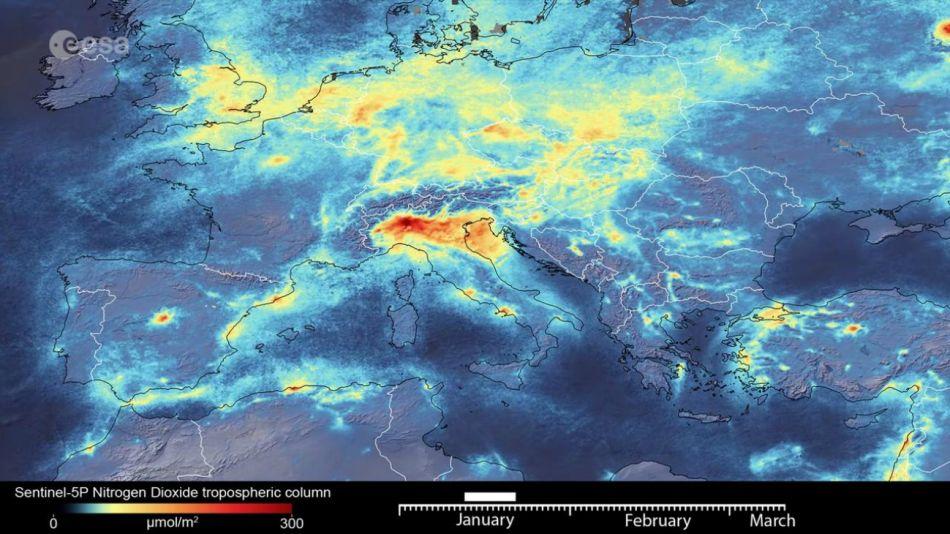 china aire contaminacion