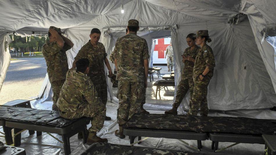 Militares Argentinos por Tema Coronavirus 20200324