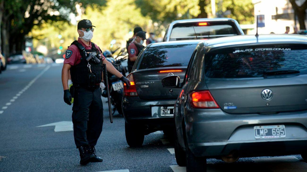 Control policial en capital federal