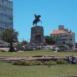 El Parque San Martín de Mar del Plata está en la costa, en la zona más aristocrática de la ciudad.