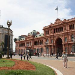 Las plazas de Mayo y de los Dos Congresos también se pueden recorrer de manera virtual.