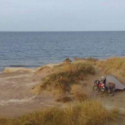 El británico Paul Shepherd lleva nueve meses recorriendo la Patagonia.