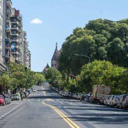 La Ciudad casi desierta por la cuarentena, como nunca se la vio. | Foto:Juan Ferrari