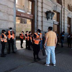 Argentina en cuarentena, para frenar la curva la pandemia. | Foto:Néstor Grassi