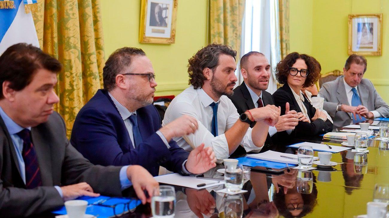 El gabinete económico apura medidas para las Pymes y ayuda a las provincias