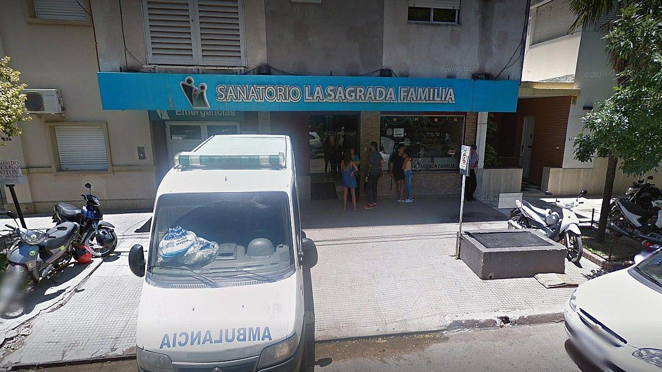 Sanatorio Sagrada Familia de Resistencia.