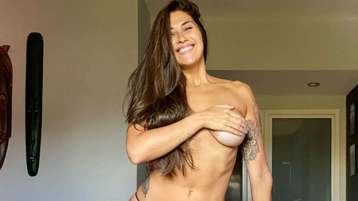 Ivana Nadal se grabó desnuda y tuvo un accidente hot