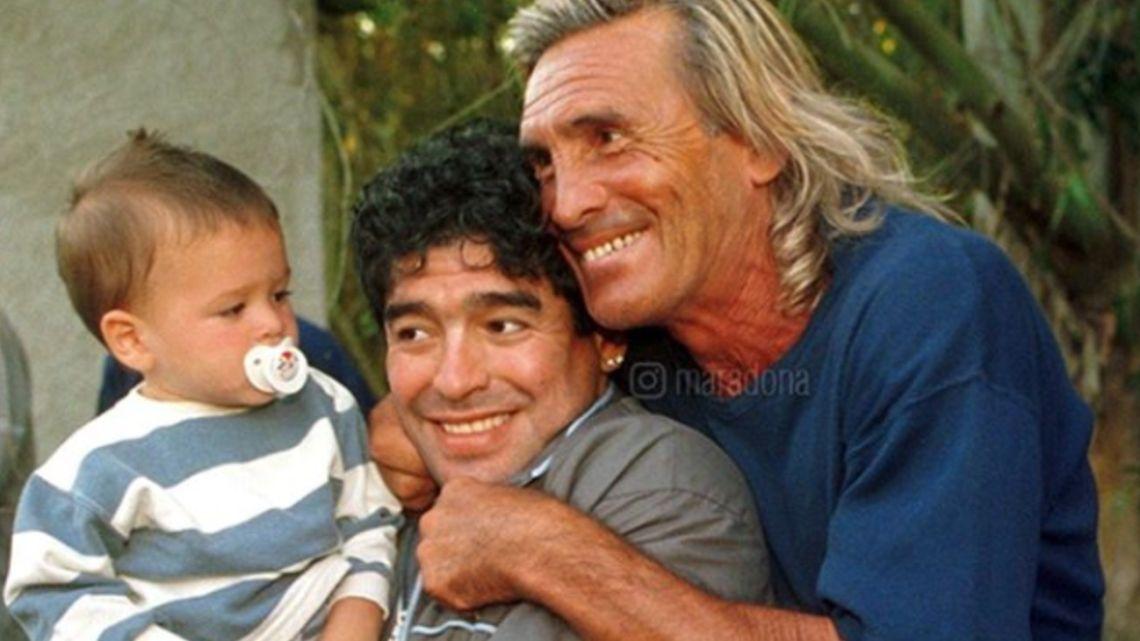El mensaje de aliento que le envió Maradona al Loco Gatti