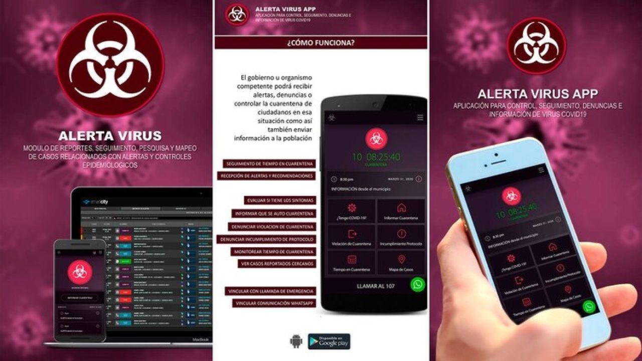 sistema de gestión inteligente contra el coronavirus | Foto:cedoc