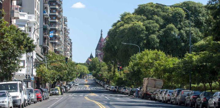 La Ciudad casi desierta por la cuarentena, como nunca se la vio.
