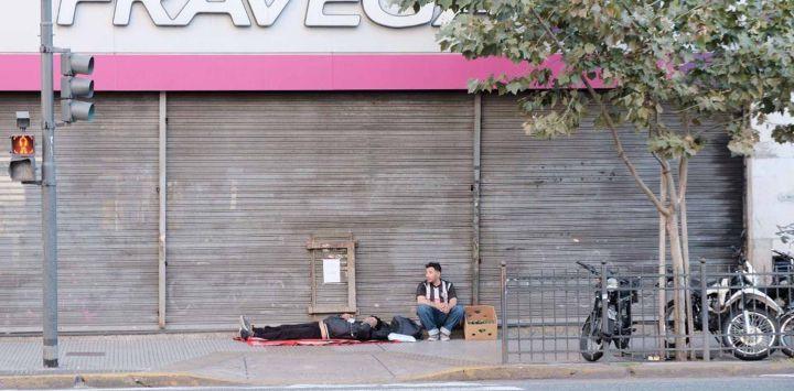 Argentina en cuarentena, para frenar la curva la pandemia.