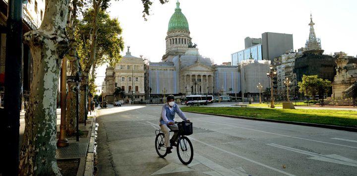 La Ciudad en cuarentena.