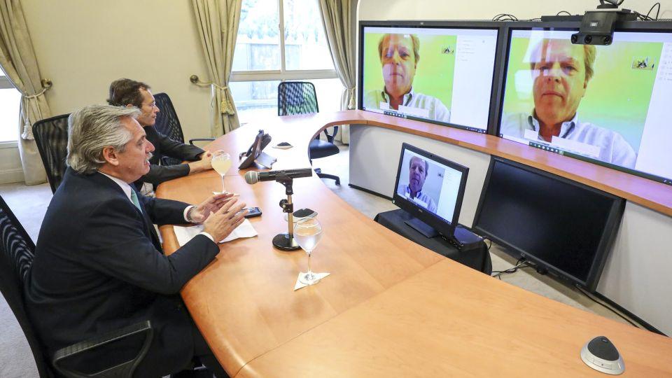 El Presidente recibió el apoyo del Banco Mundial 20200325