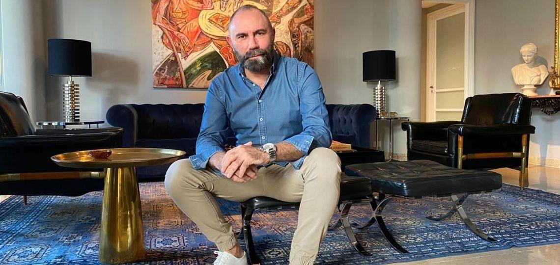 """Gabriel Lage: """"El impacto del coronavirus es aplastante en la alta costura"""""""