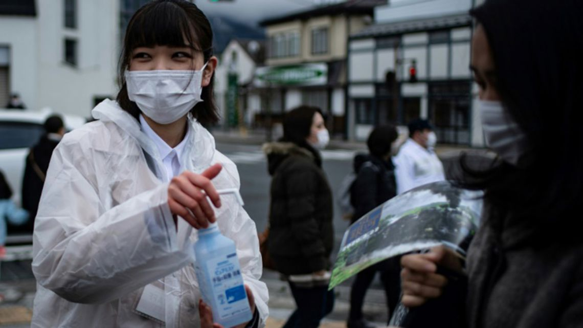 Handwashing and hygiene in Japan has helped push down the number of flu infections this year, officials say.