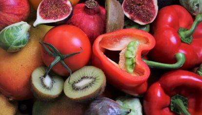 Las frutas y verduras son la base de la alimentación para reforzar el sistema inmune.