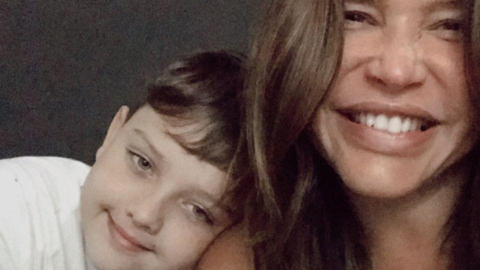 El emotivo mensaje de Thiago, el hijo Nazarena Vélez, para Fabián Rodríguez