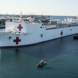 Barco hospital EEUU