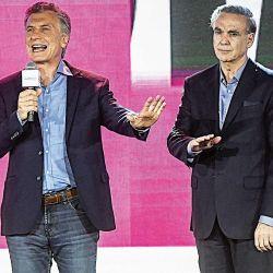 Mauricio Macri y Miguel Ángel Pichetto | Foto:cedoc