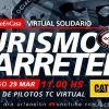 Pilotos de TC disputarán una carrera virtual.