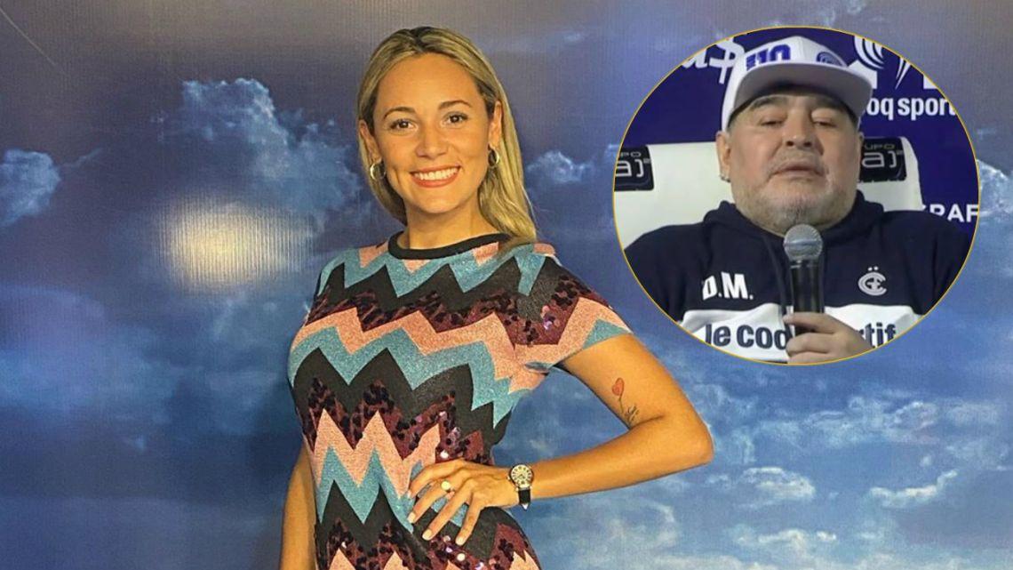 Rocío Oliva sugirió que estuvo con Maradona por un complejo de Edipo