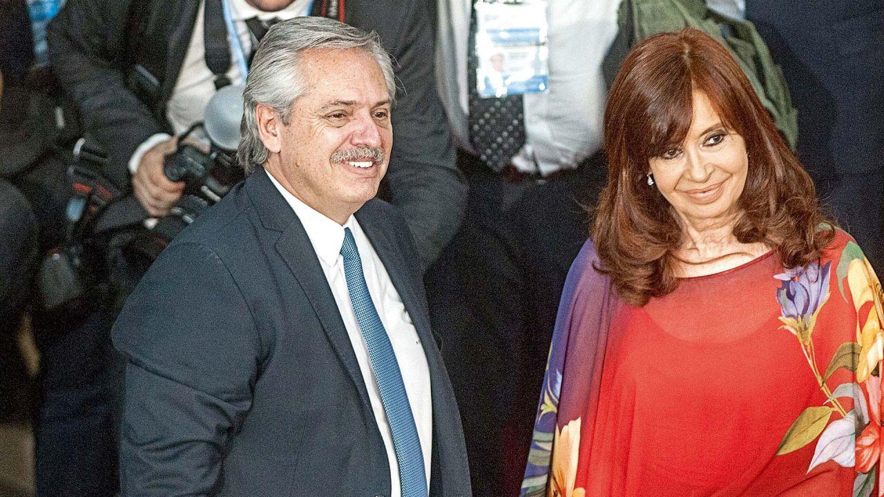 Alberto Fernández y CFK   Foto:cedoc