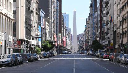 Aislamiento social en Buenos Aires