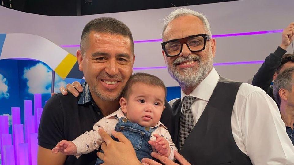 """Jorge Rial a su nieto en su primer cumpleaños: """"Me hiciste abuelo y el hombre más feliz del mundo"""""""