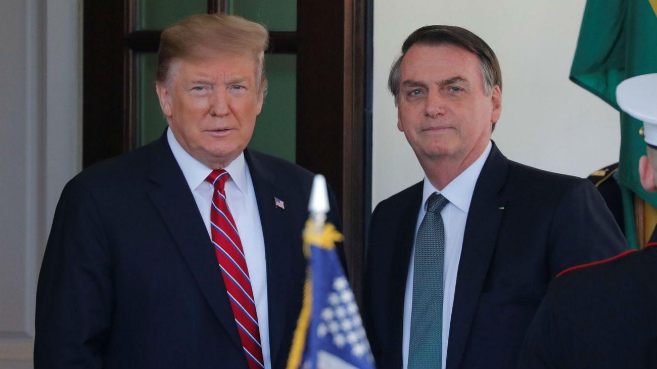Trump y Bolsonaro, dos de los líderes golpeados por la crisis