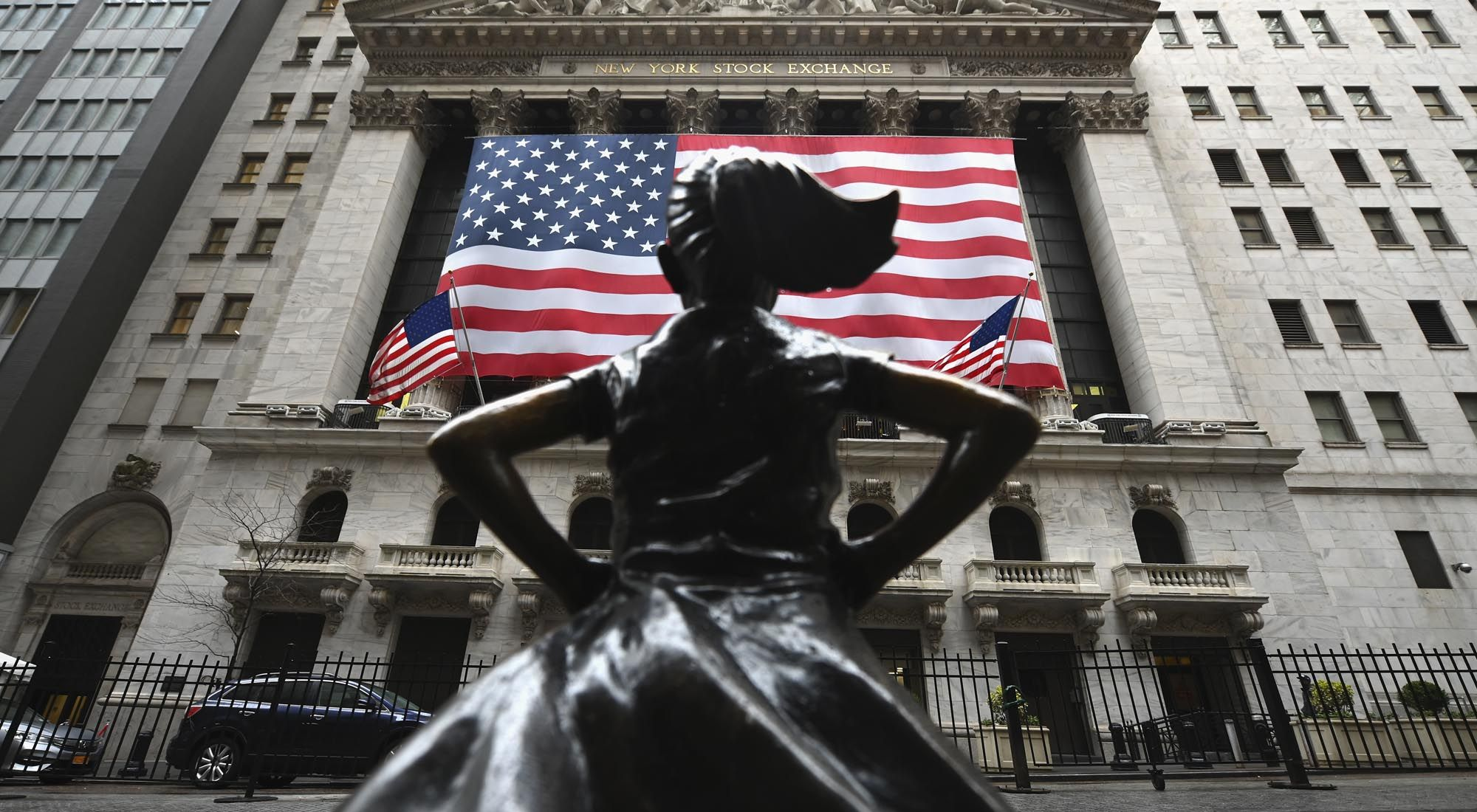 Bolsa de comercio de Estados Unidos.