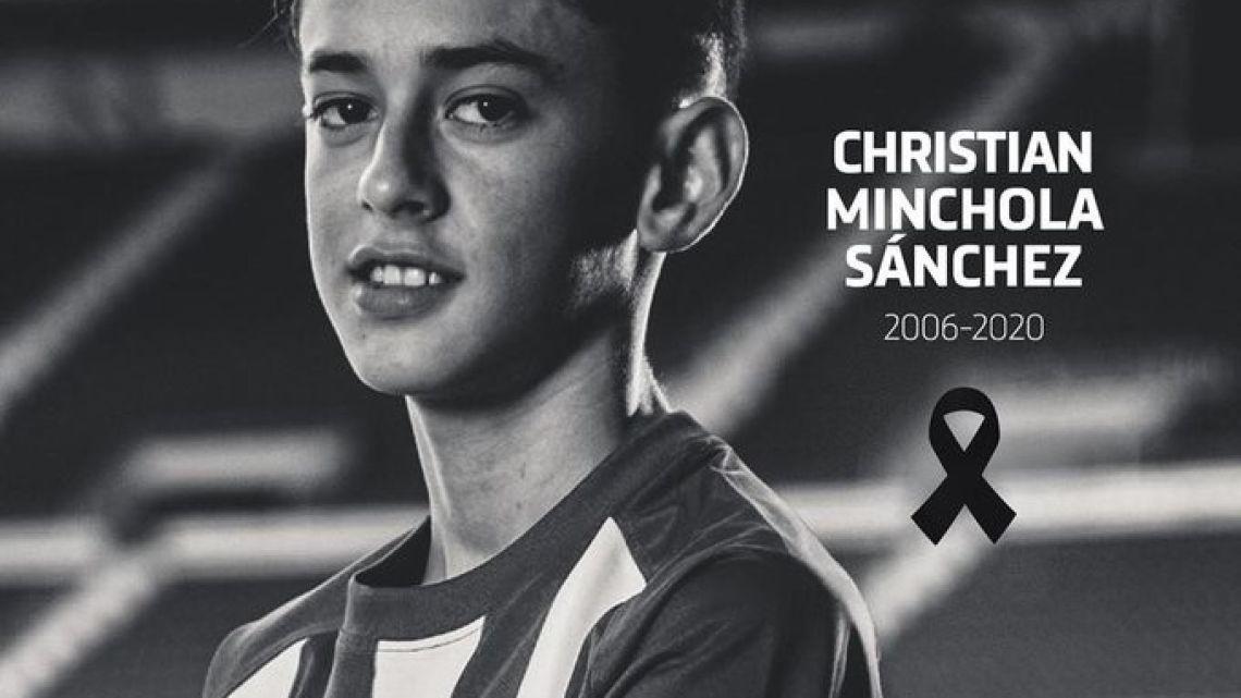 Consternación en Atlético de Madrid por la muerte de una joven promesa