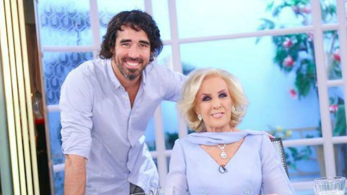Nacho Viale mostró que ayuda a Mirtha y enfrentó críticas en las redes