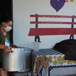 El comedor reclama ayuda estatal.   Foto:cedoc.