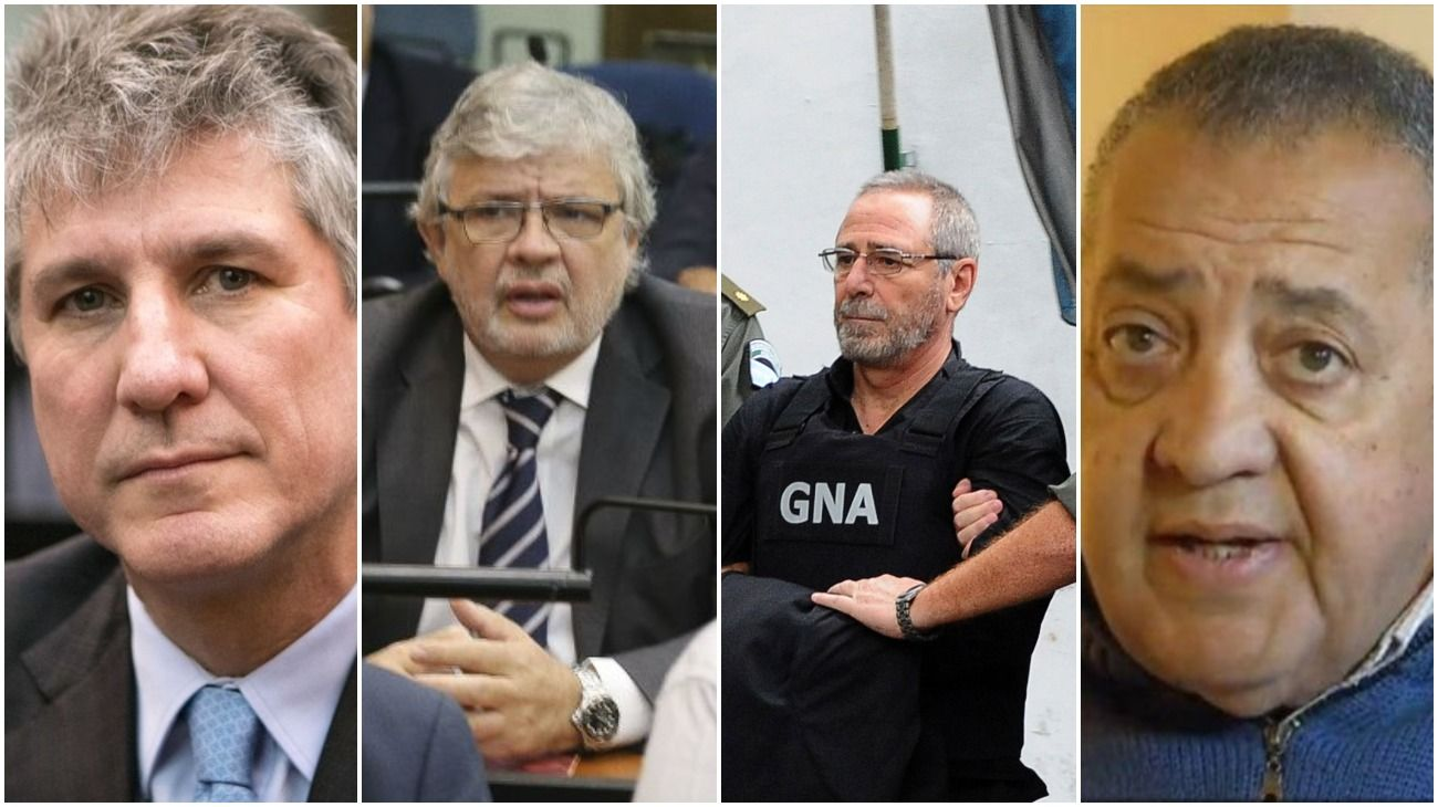Los ex funcionarios acusados de corrupción que piden prisión domiciliaria