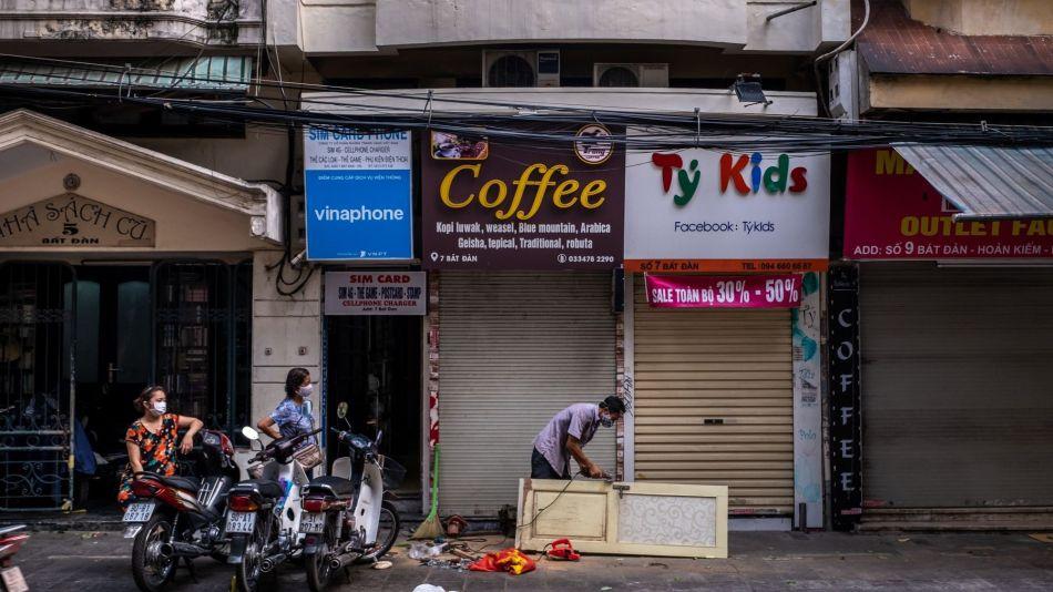 Businesses In Vietnam Shutdown As The Coronavirus Continue To Spread