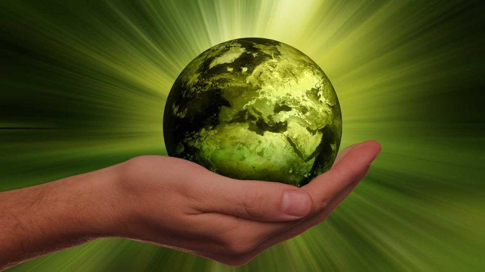Sostenibilidad tierra eco