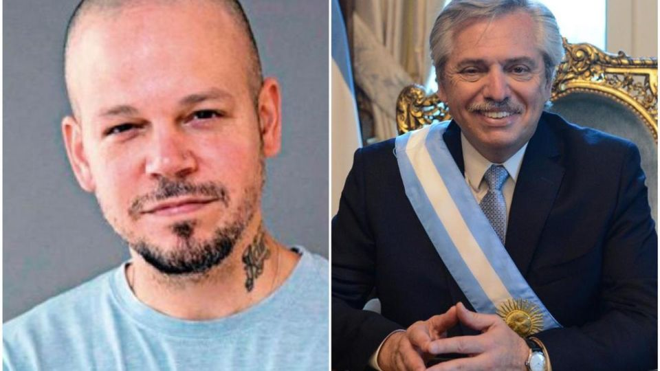 Mano a mano: René Pérez entrevistó a Alberto Fernández en medio de la cuarentena
