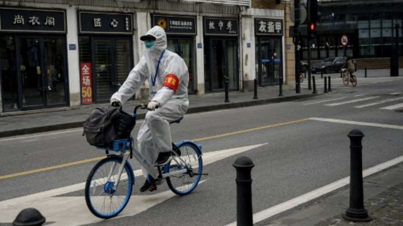 China frente al coronavirus.