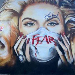 Arte urbano en tiempos de coronavirus | Foto:cedoc