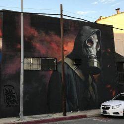 El arte callejero contra el coronavirus en el mundo   Foto:cedoc