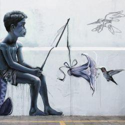 Mural sobre el coronavirus en México   Foto:cedoc