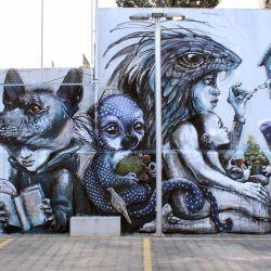 Mural sobre el coronavirus en México | Foto:cedoc