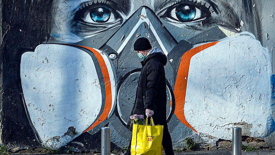 El arte callejero contra el coronavirus en el mundo | Foto:cedoc