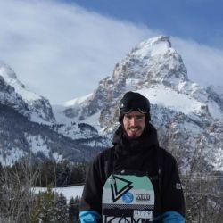 Paul Holmberg hace más de diez años que hace doble temporada de snowboard entre Sudamérica y EE. UU.