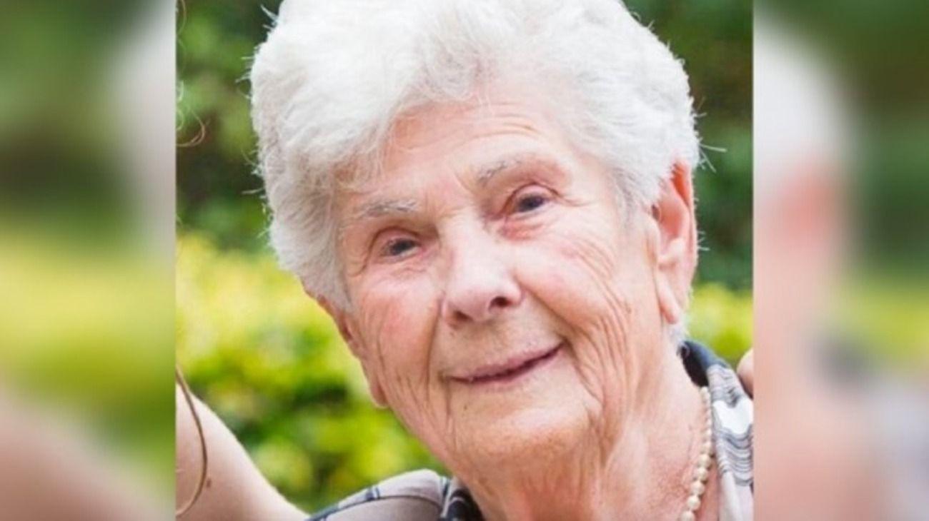 Suzanne, de 90 años. Falleció el 22 de marzo por coronavirus.