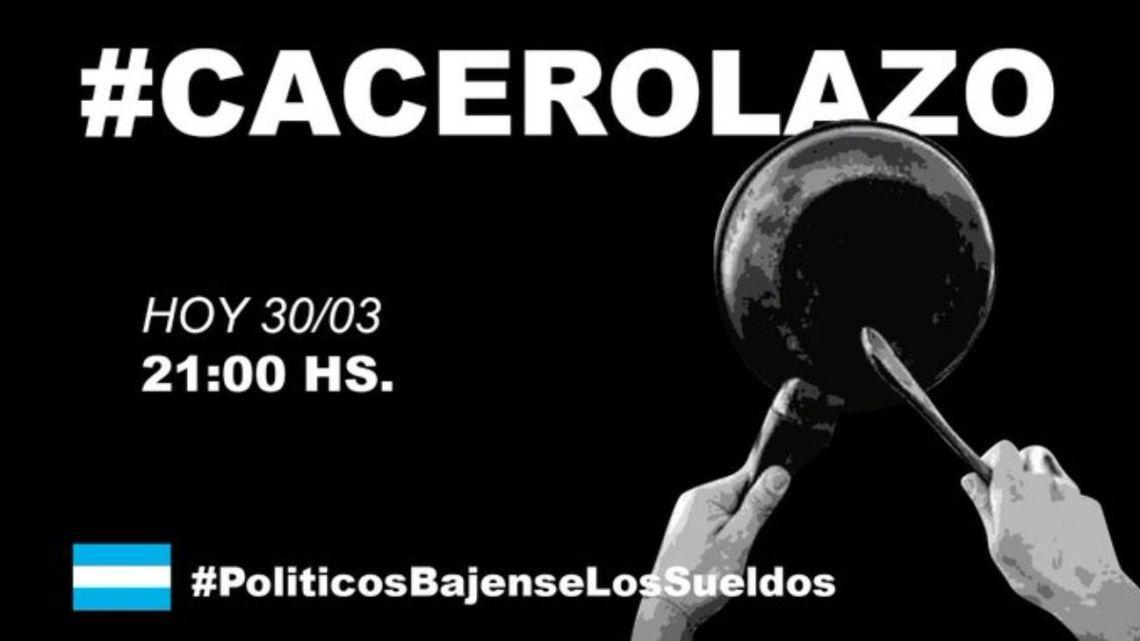 Cacerolazos | Foto:Cedoc
